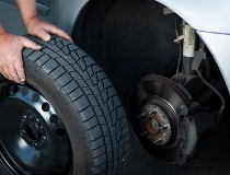 Replacing Tire - Auto Repair